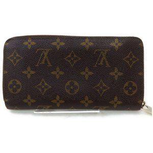 💯 Authentic Louis Vuitton Monogram Zippy Wallet